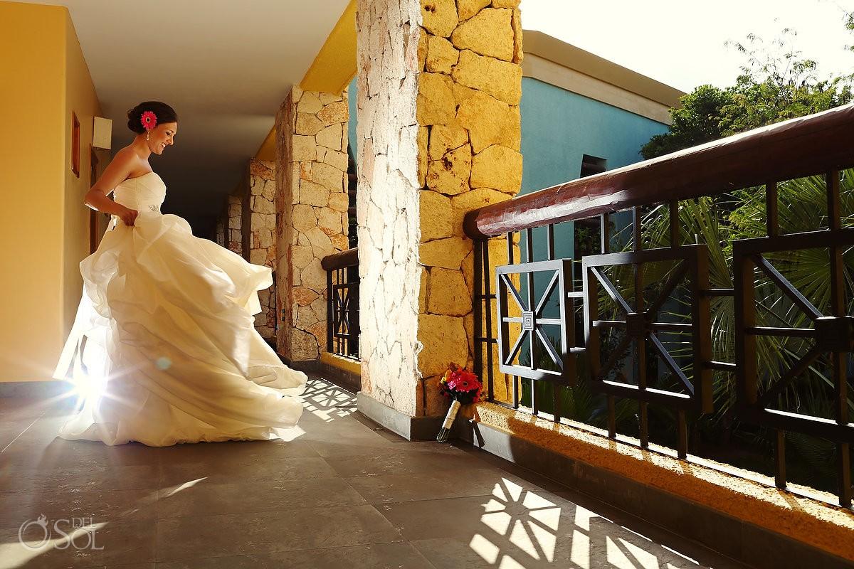 Wedding bride Iberostar Mexico