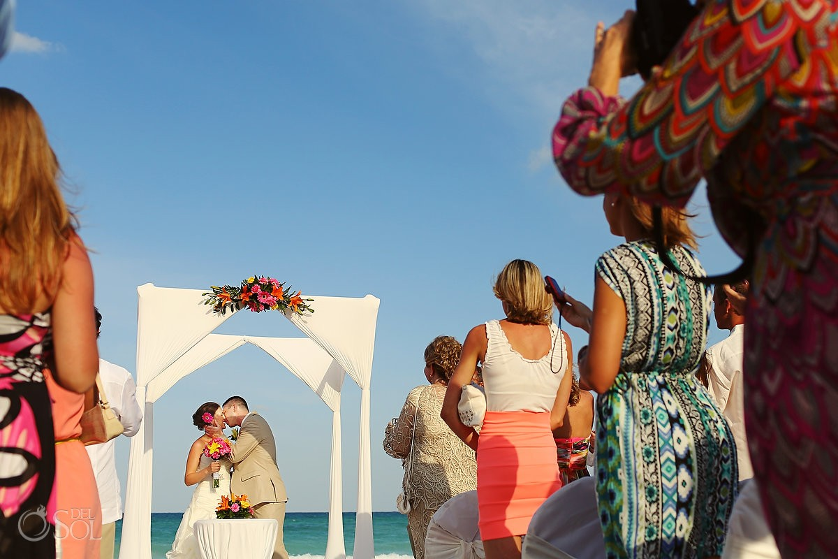 Wedding beach Riviera Maya Iberostar Paraiso Lindo