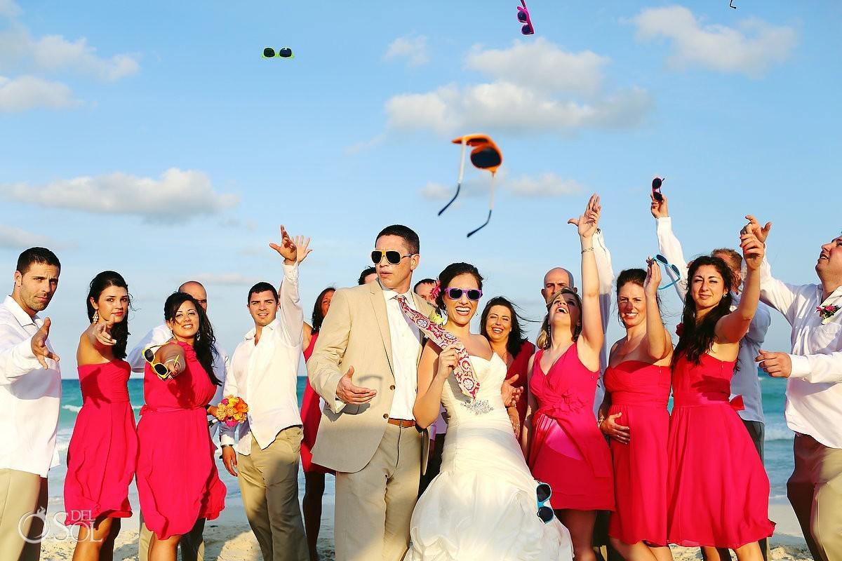Riviera Maya beach wedding Iberostar Paraiso Lindo