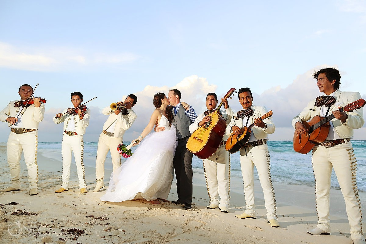 Wedding Tulum Akiin Beach Club