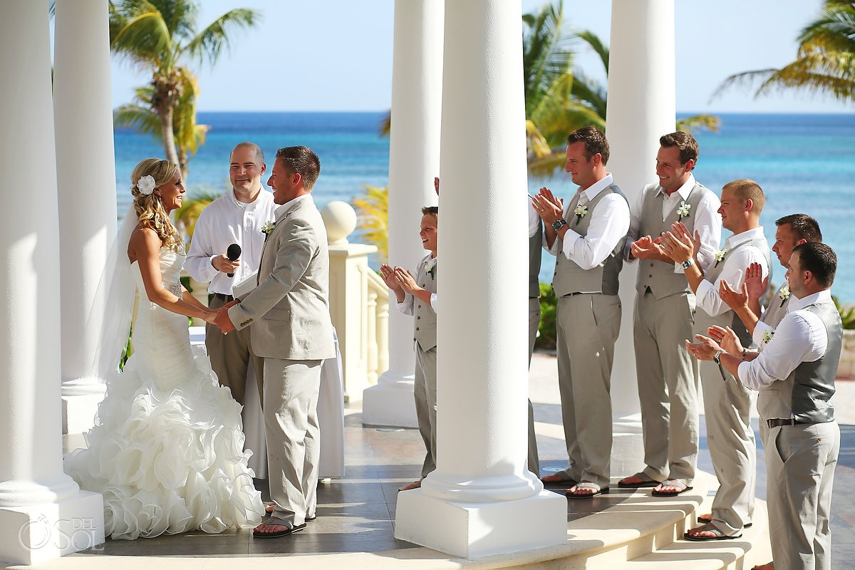 Destination Wedding Riviera Maya Barcelo Palace Kelli And Josh
