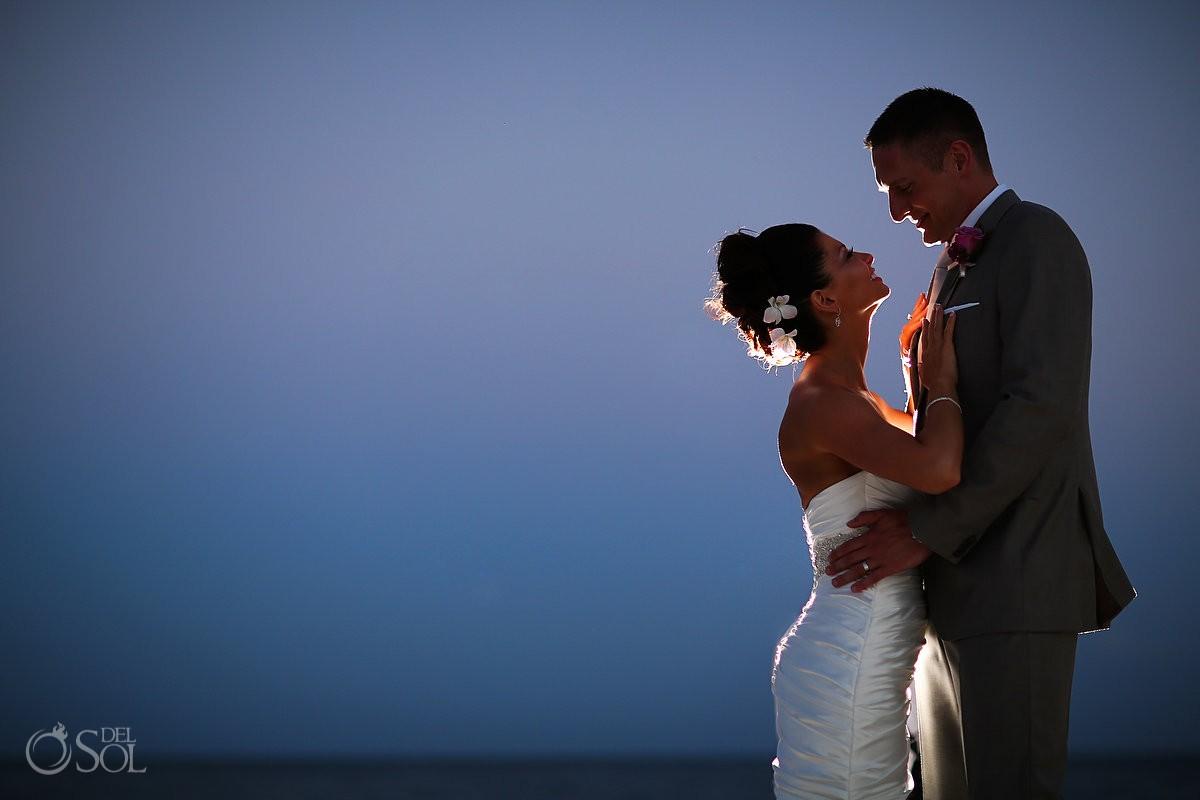 Dreams Riviera Cancun wedding beach