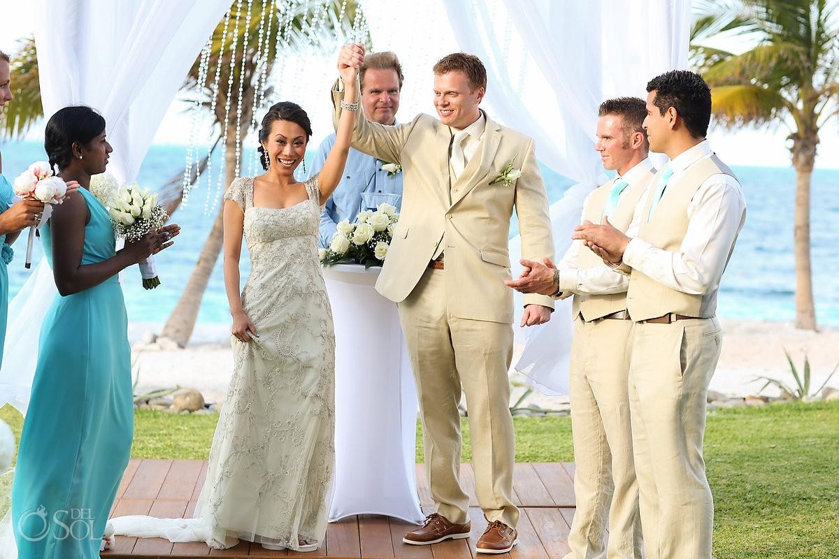 Ceremon Cancun wedding Riu Palace Peninsula