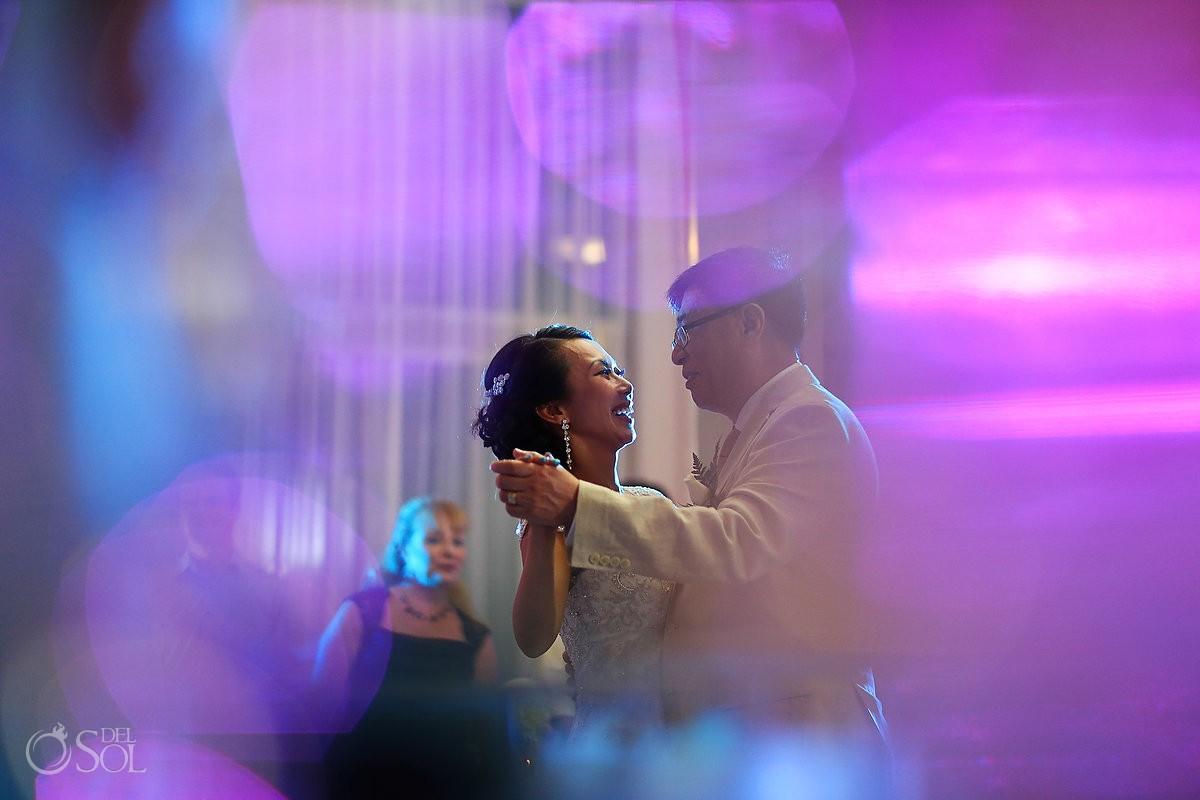 Wedding reception Cancun Riu Palace Peninsula