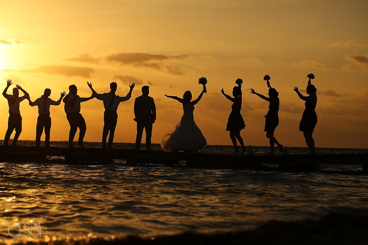 Wedding Zama Beach Isla Mujeres