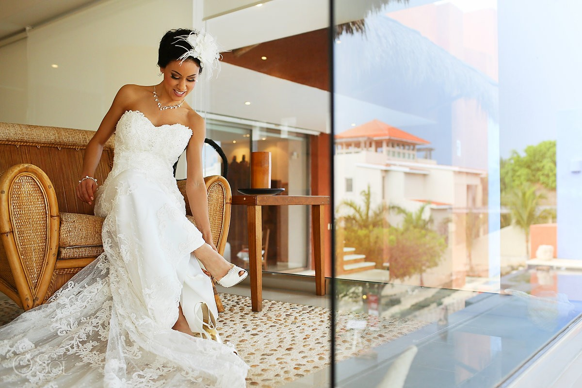 Wedding Isla Mujeres Mexico Casa de los Suenos