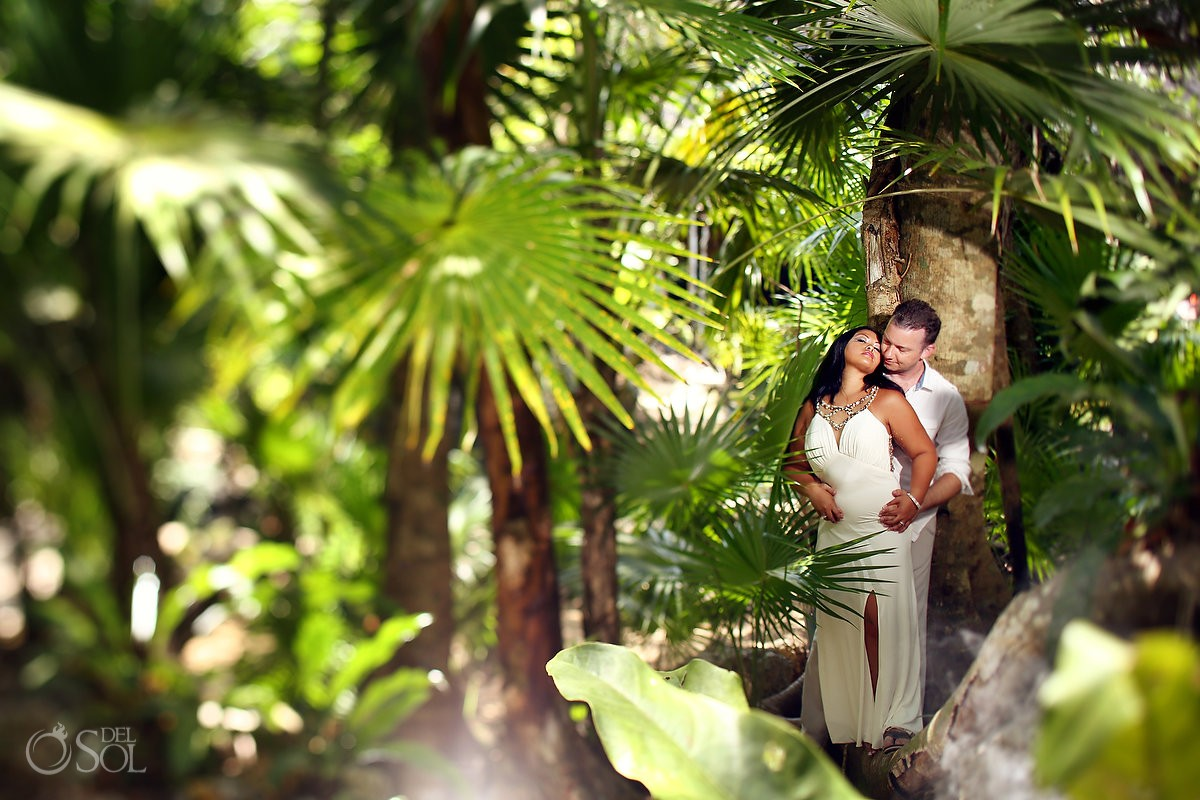 Riviera Maya cenote trash the dress photography