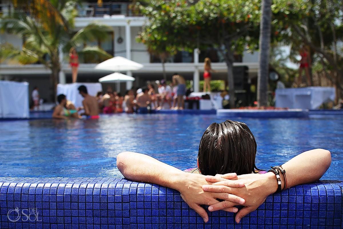 Playa del Carmen Le Reve pool