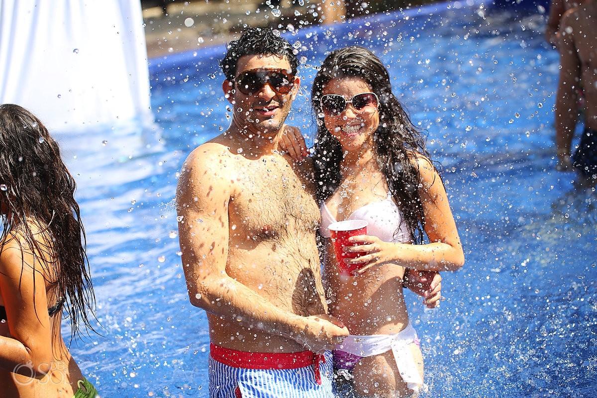 Pool party Playa del Carmen Le Reve hotel