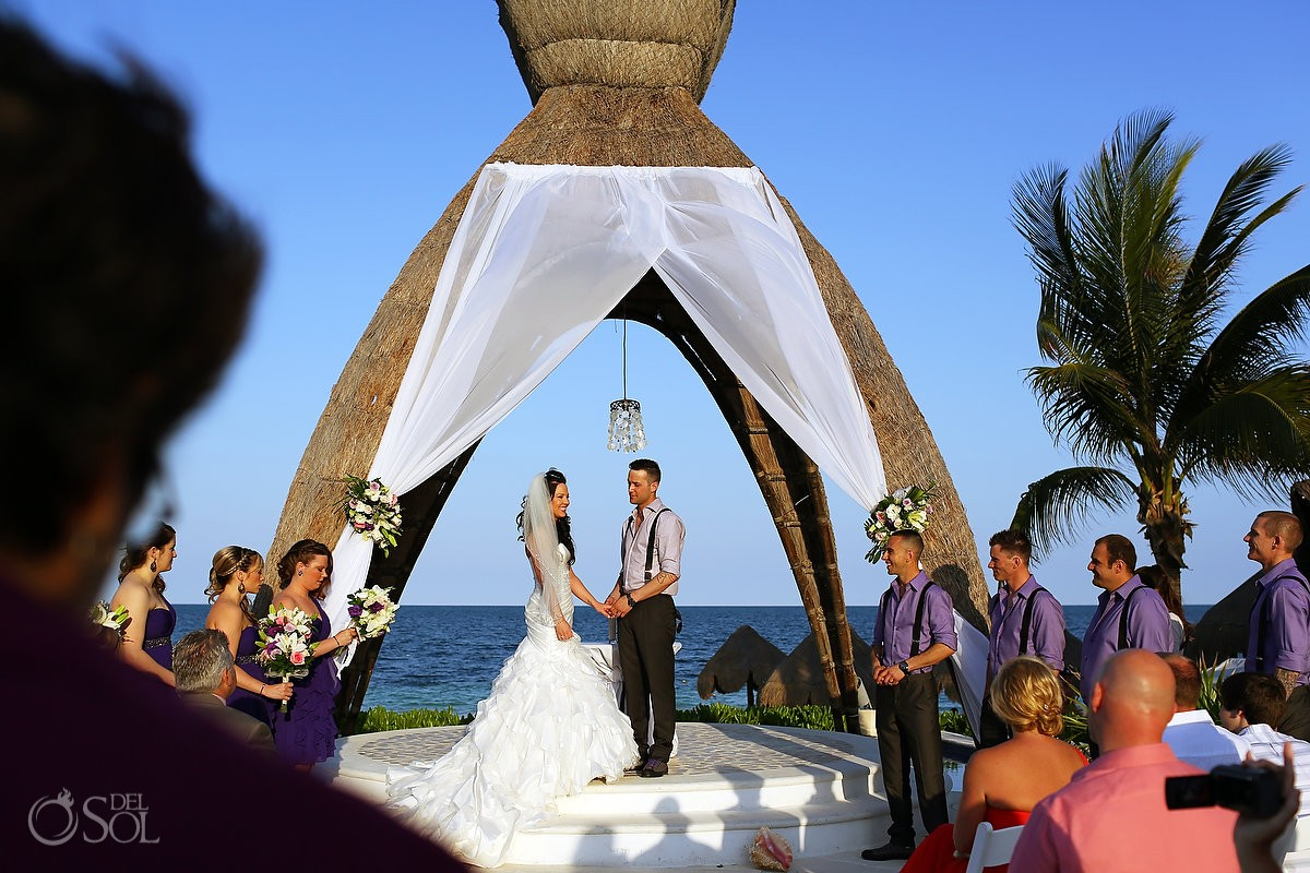 Mexico Destination Wedding At Dreams Riviera Cancun Katie And Josh