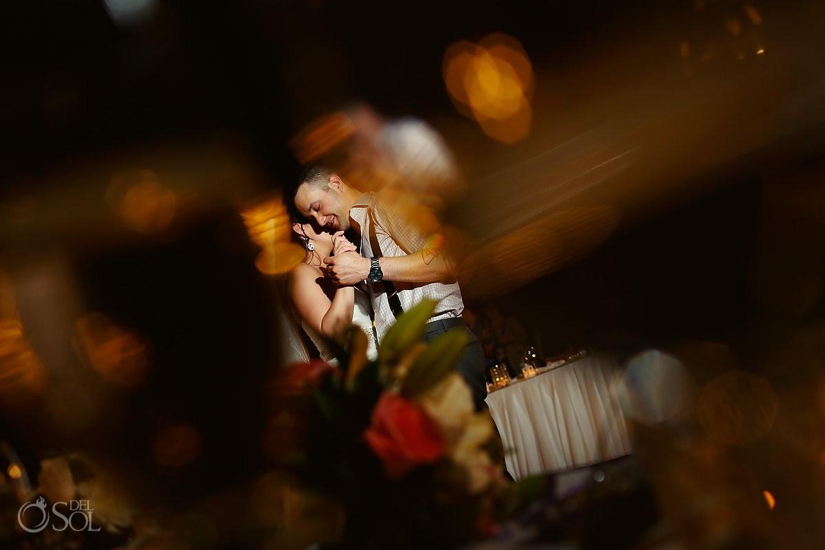 Wedding reception Dreams Riviera Cancun Mexico