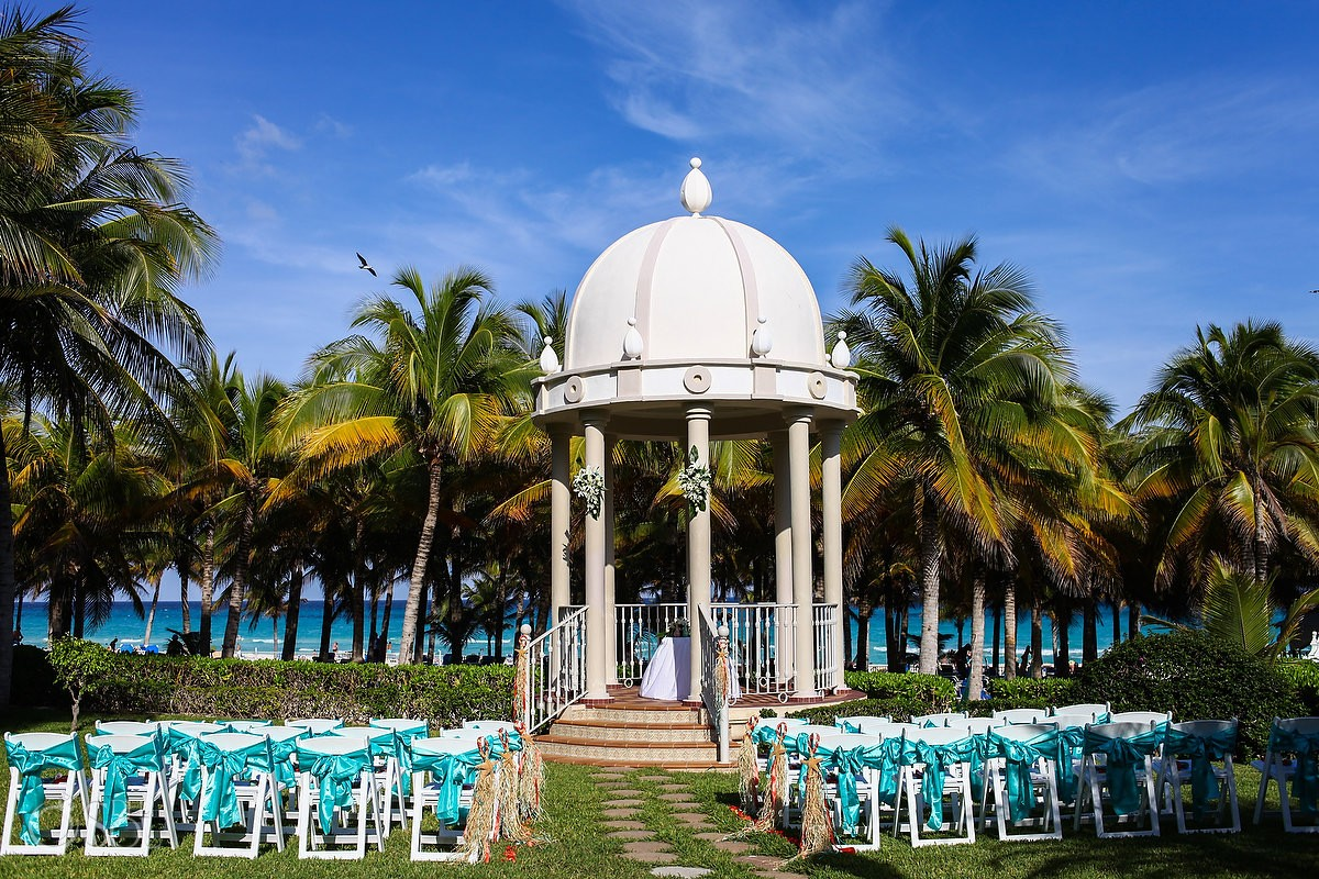 Destination Wedding Mexico Riu Palace Riviera Maya