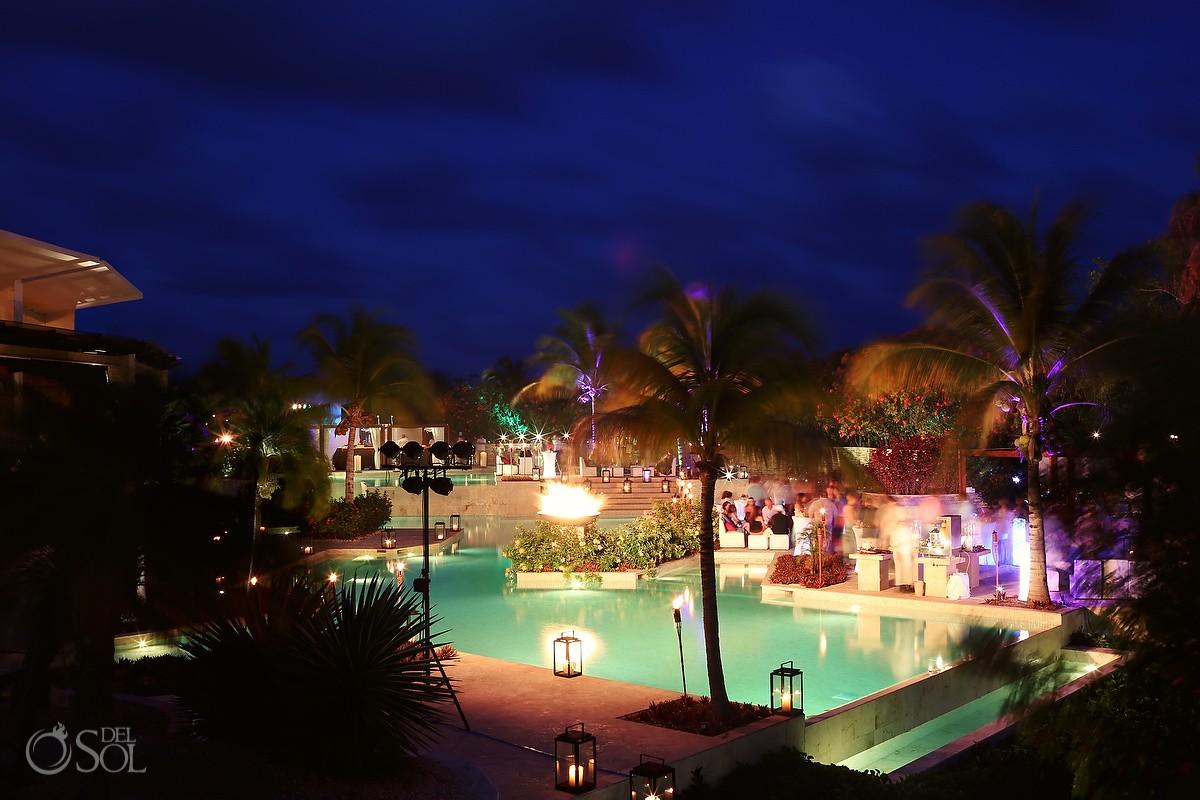 Riviera Maya photography party Rosewood Mayakoba Mexico