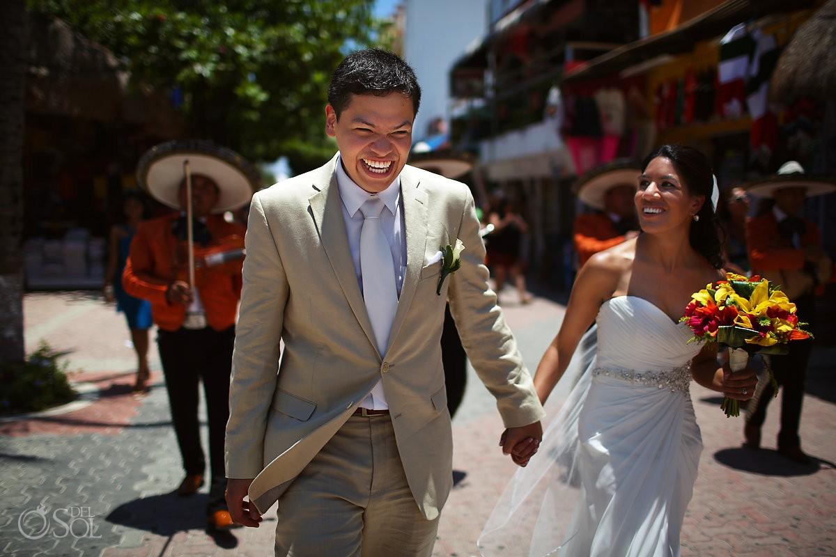 Wedding Playa del Carmen 5th Avenue
