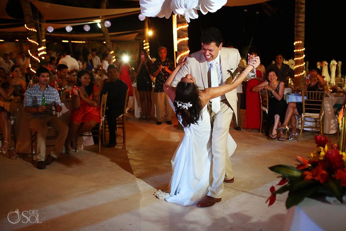 Wedding Playa del Carmen Kool Beach Club