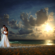 Beach wedding Playa del Carmen Kool Beach Club