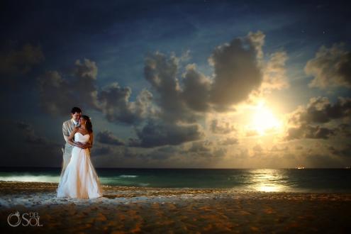 Beach wedding Playa del Carmen Kool Beach Club