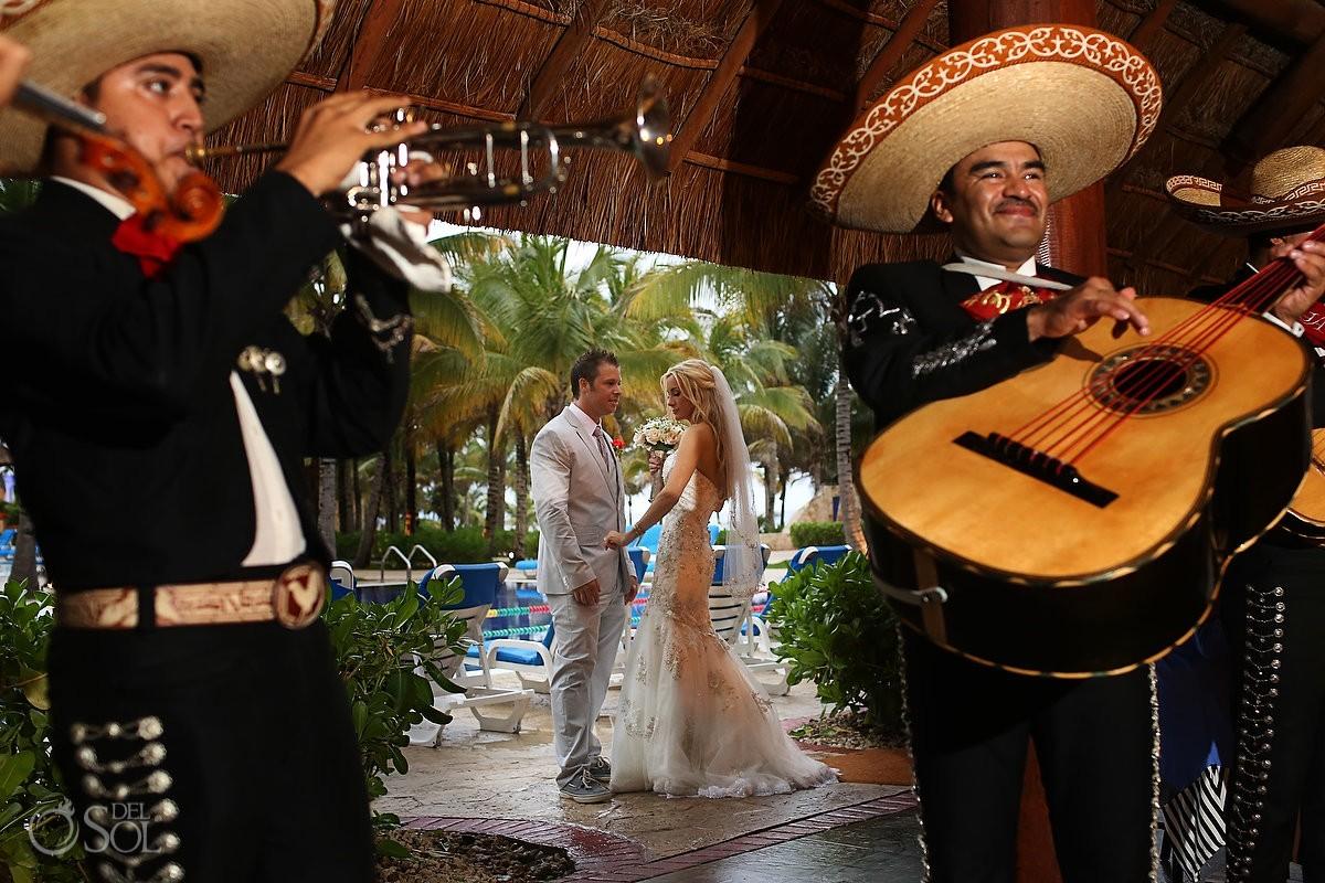 Mariachis wedding Barcelo Maya Palace Riviera Maya Mexico