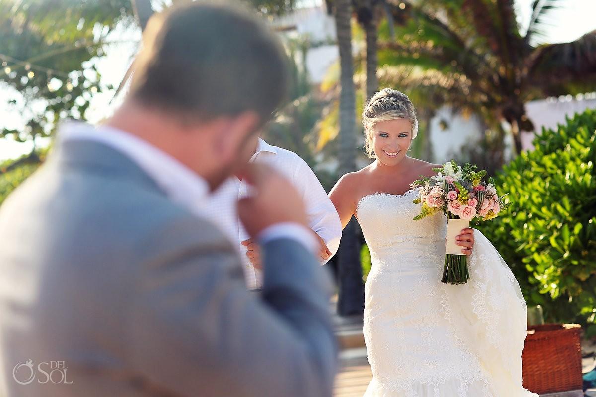 Cosmic Beach wedding Riviera Maya Esencia Hotel