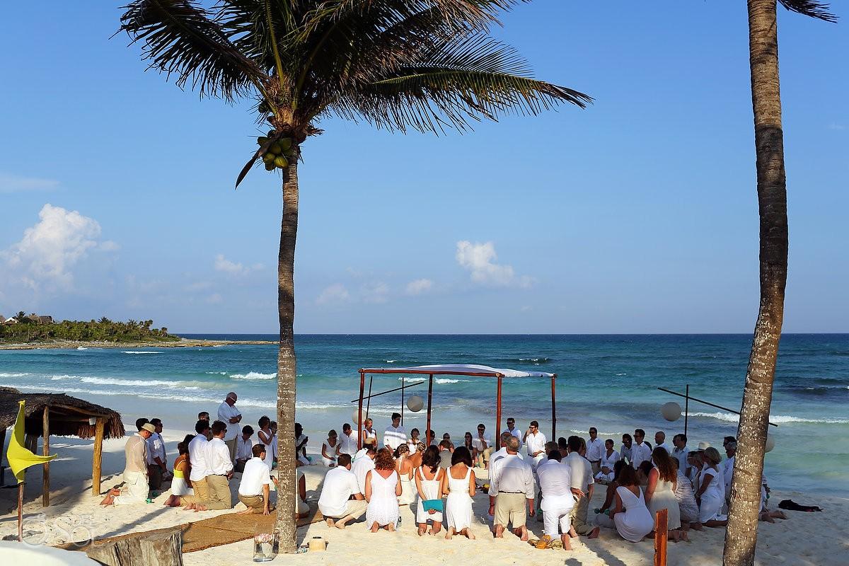 Hotel Esencia Wedding Ceremony