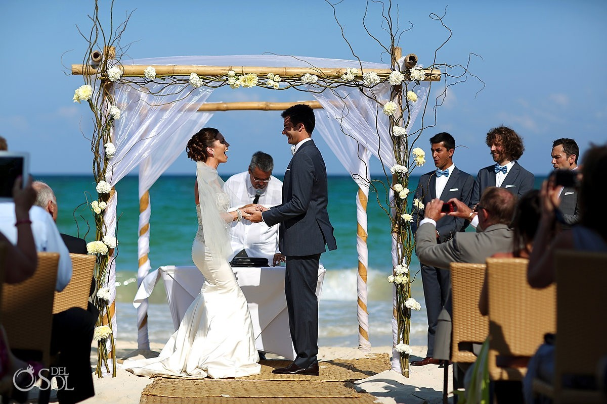 Fairmont Mayakoba Wedding ceremony