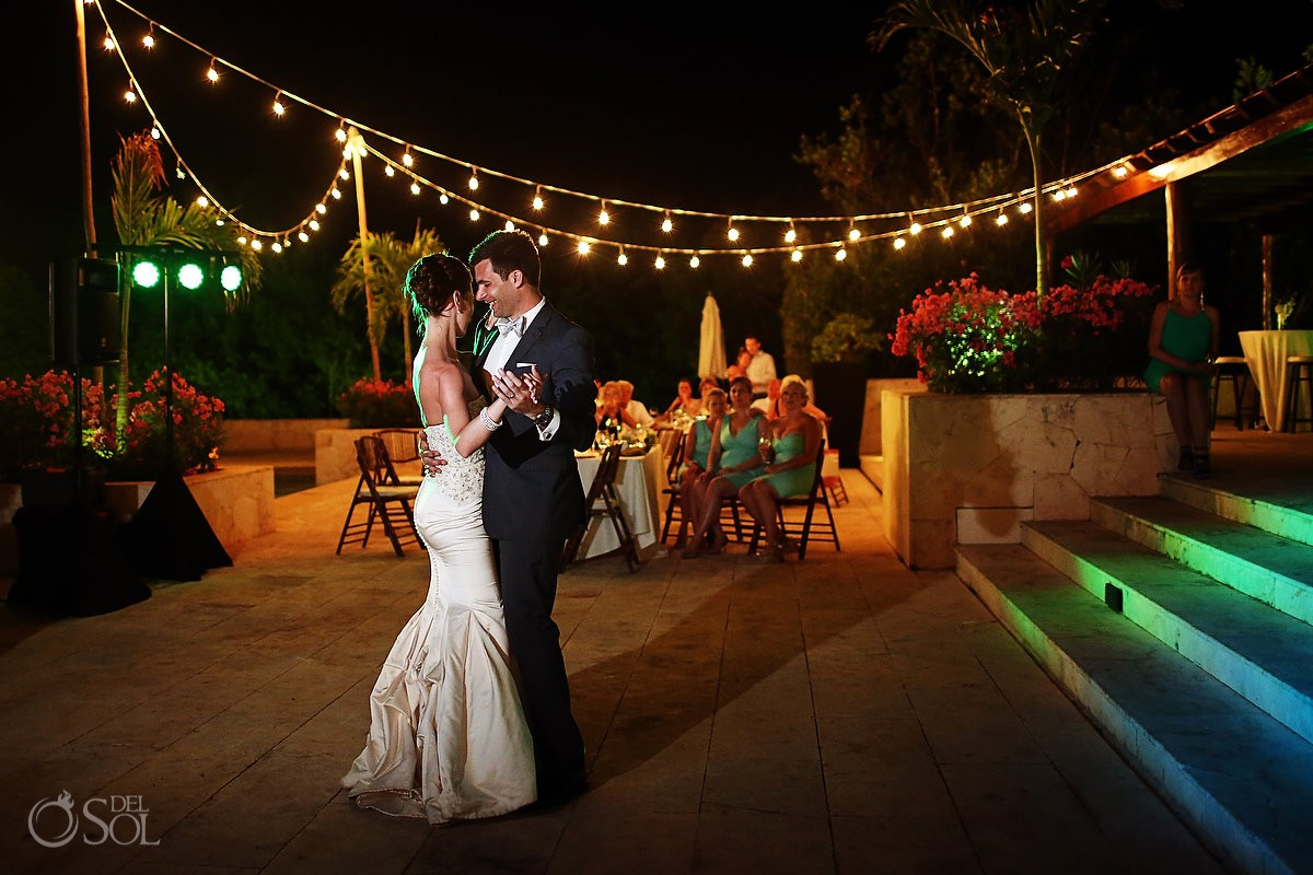 Fairmont Mayakoba Wedding First dance