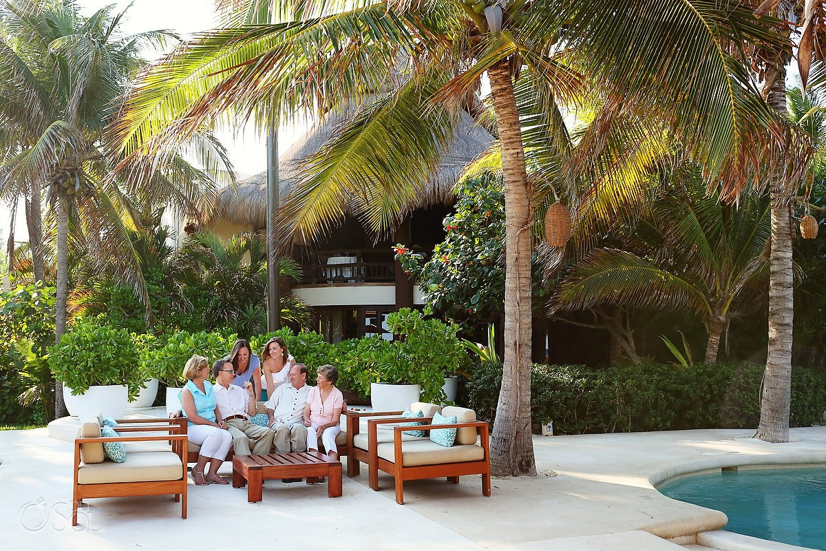 Riviera Maya photography family portraits Viceroy Hotel