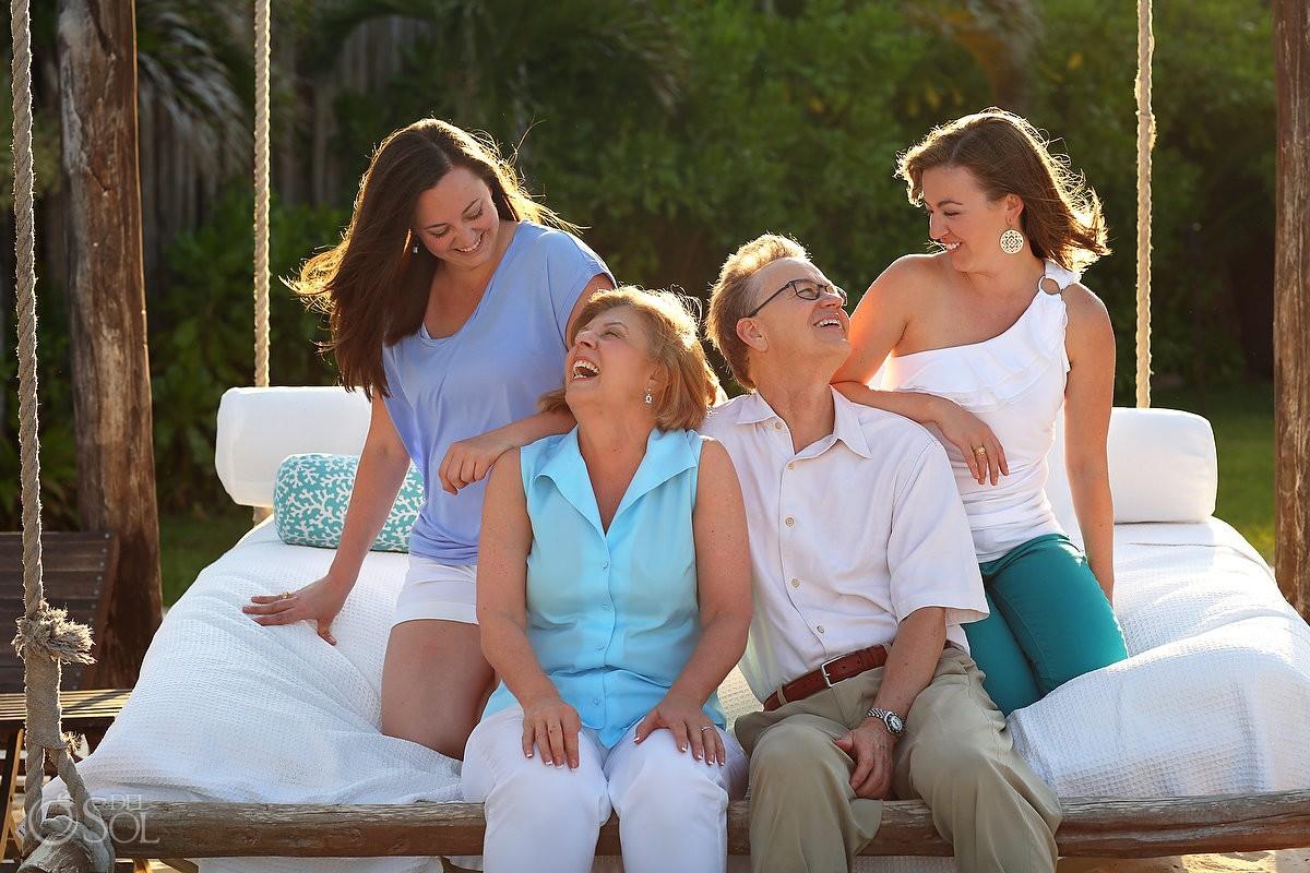 Riviera Maya photography family portraits Viceroy Hotel