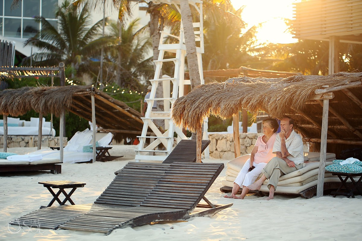 Riviera Maya photography family portraits beach Viceroy Hotel