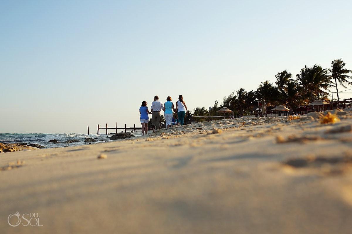 Riviera Maya photography family portraits beach Viceroy Hotel