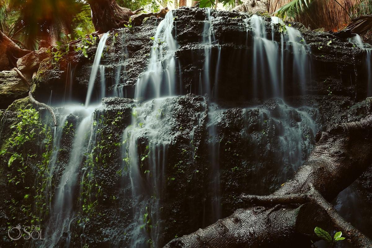 Riviera Maya photography waterfall Viceroy Hotel