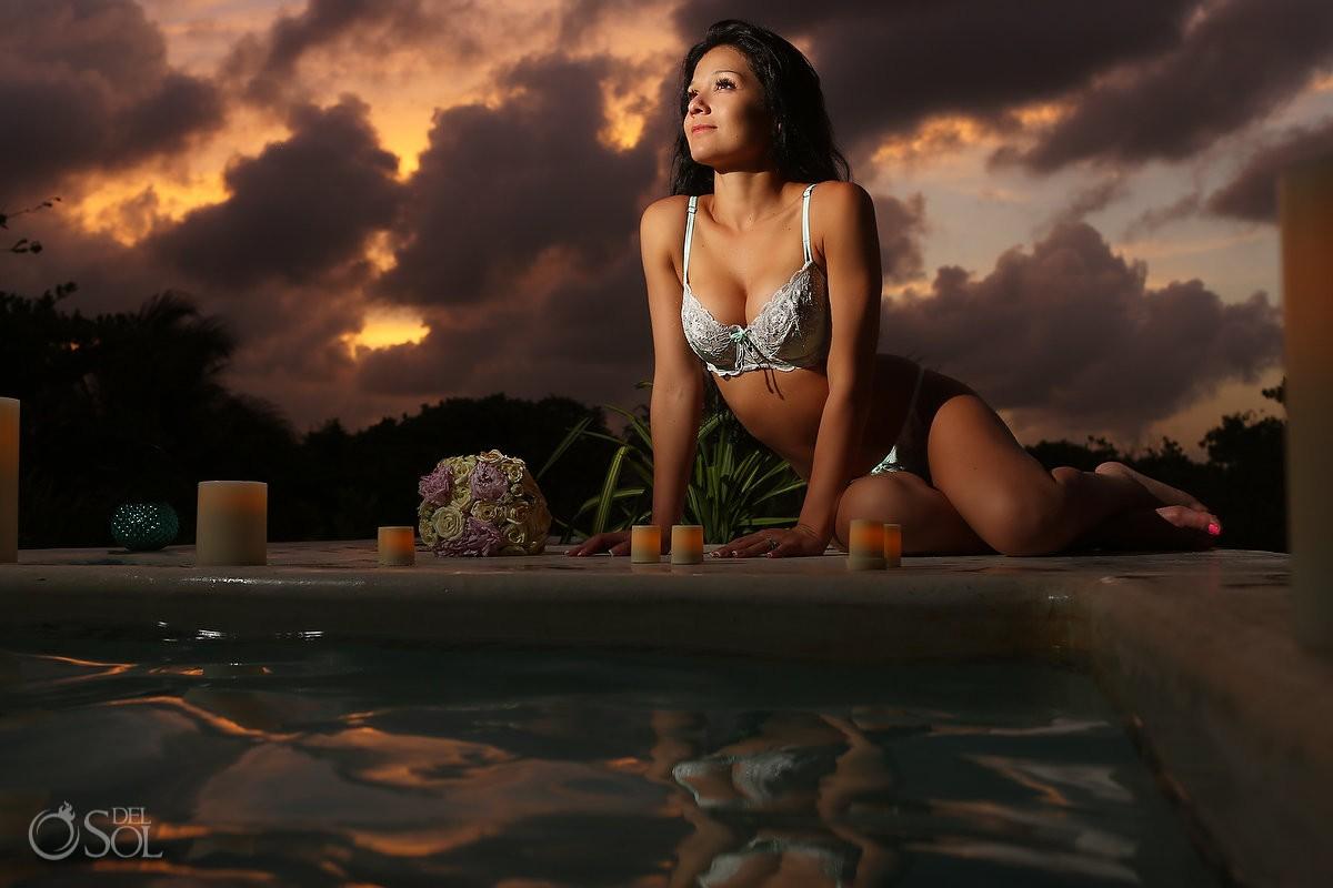 Riviera Maya photography boudoir sexy