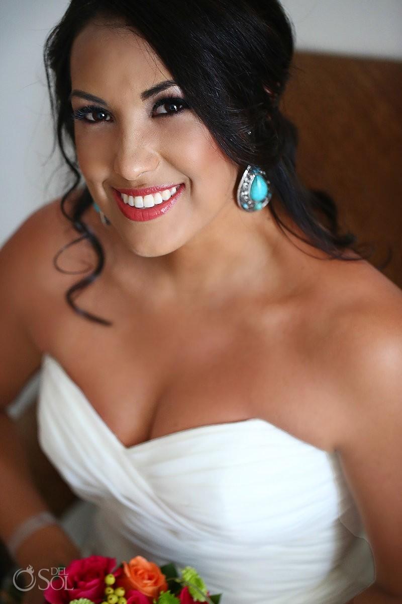 Bride destination wedding Playacar Palace, Riviera Maya