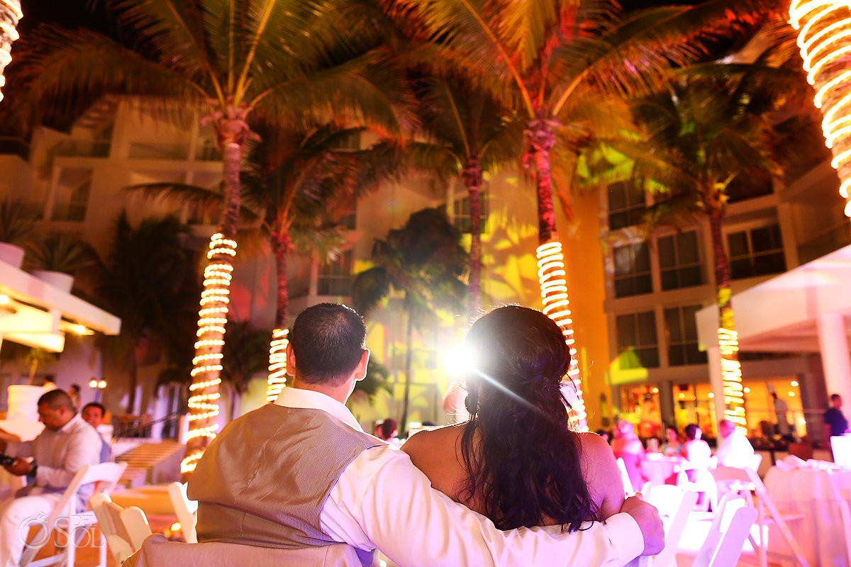 Beach wedding Playacar Palace Playa del Carmen Mexico