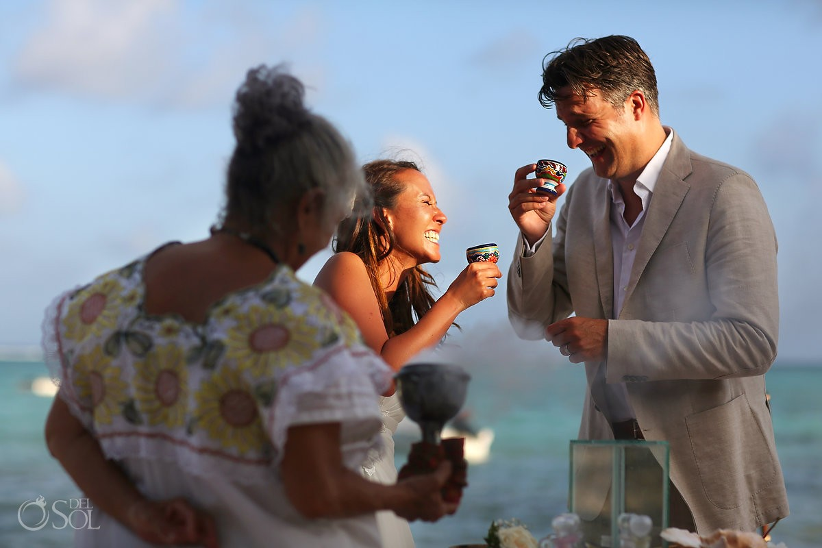 Destination wedding Tulum Jashita Beach