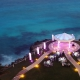 Destination wedding Hyatt Ziva Cancun Cliffside gazebo