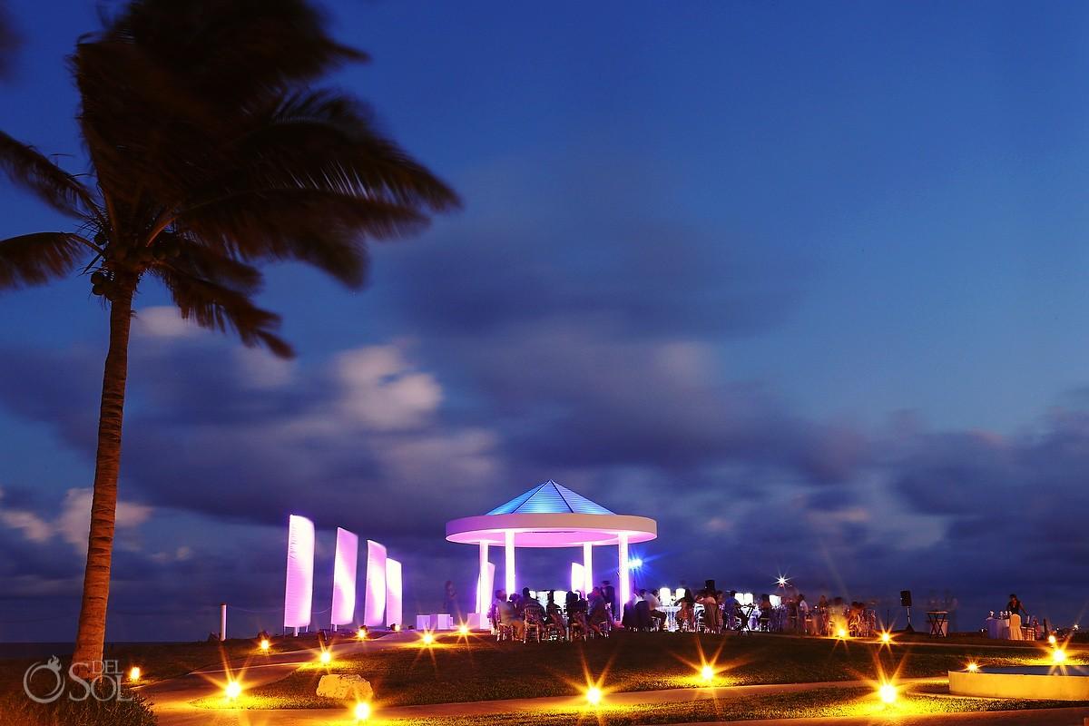 Gaebo at Hyat Ziva Cancun