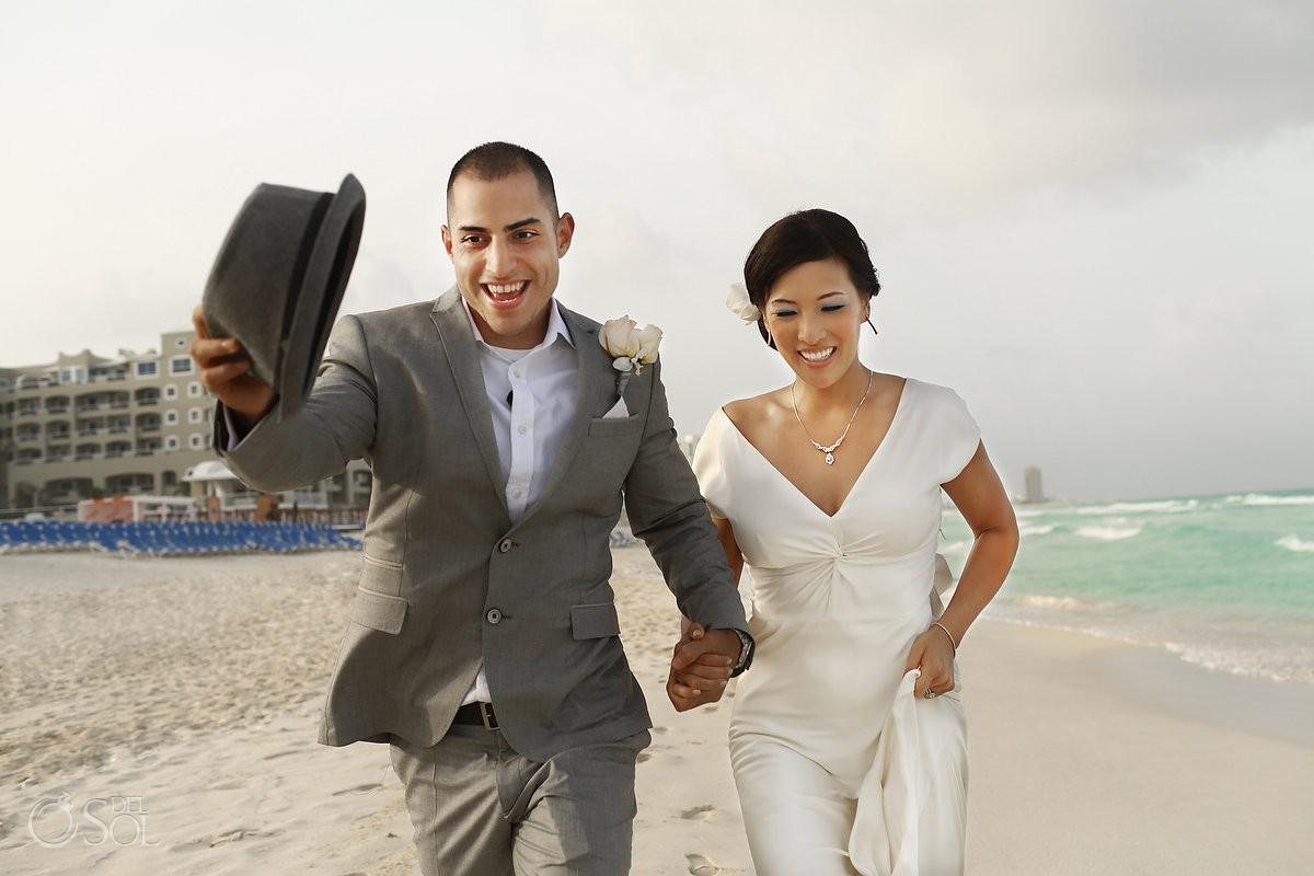 Beach wedding The Royal Cancun Mexico