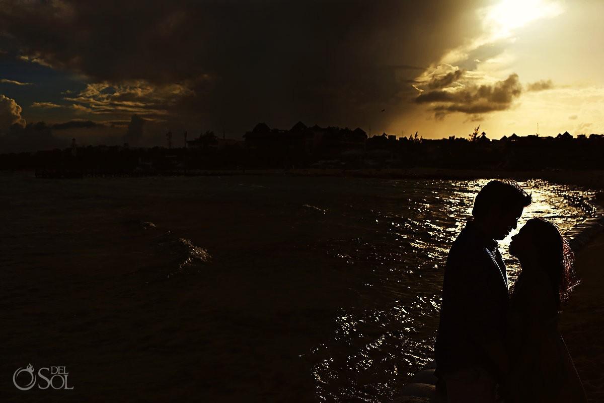 Family portraits beach Playa del Carmen Riviera Maya Mexico