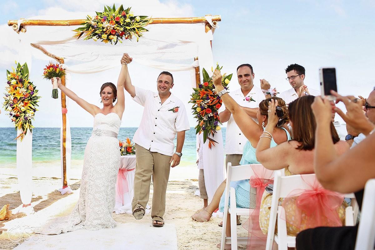 Wedding Dreams Riviera Cancun beach Mexico