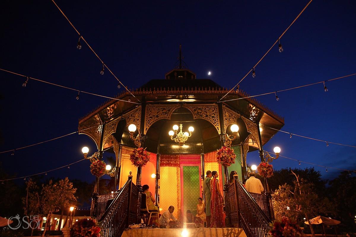 Hindu Wedding Pithi and Grah Shanti Ceremonies Riviera Maya Iberostar Resort