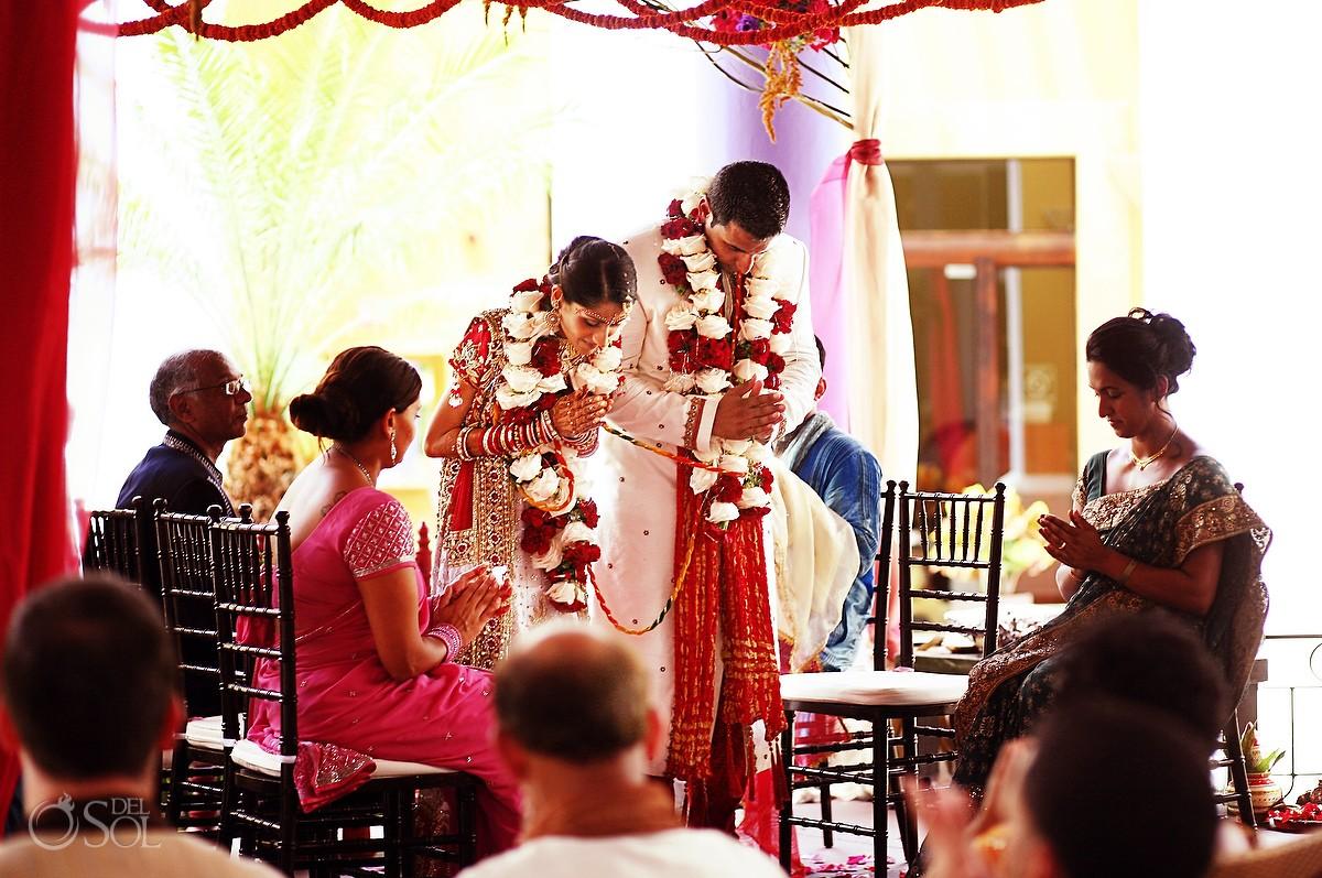 Hindu Indian wedding Ceremony Riviera Maya Iberostar Lindo Mexico