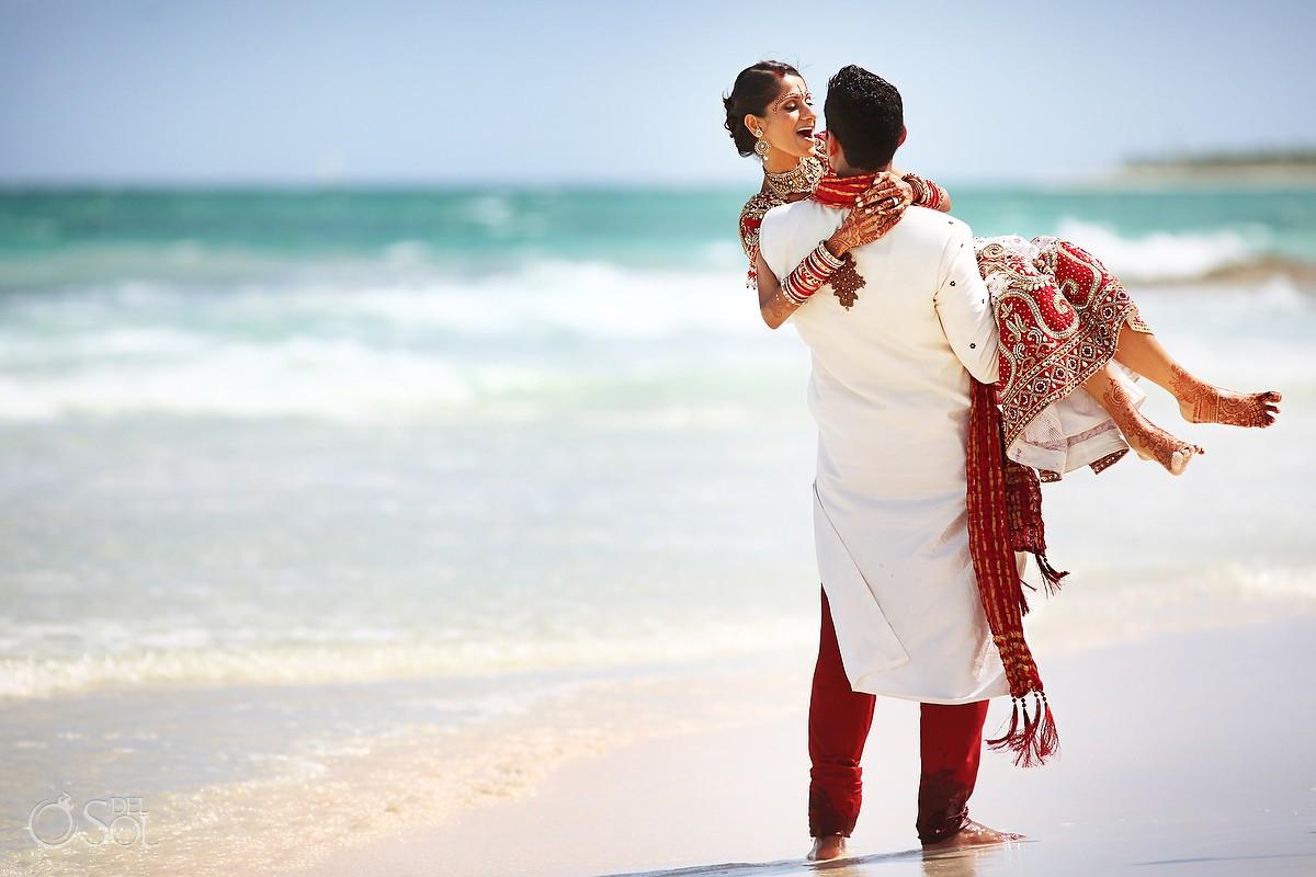 Hindu Indian wedding Riviera Maya Iberostar Mexico