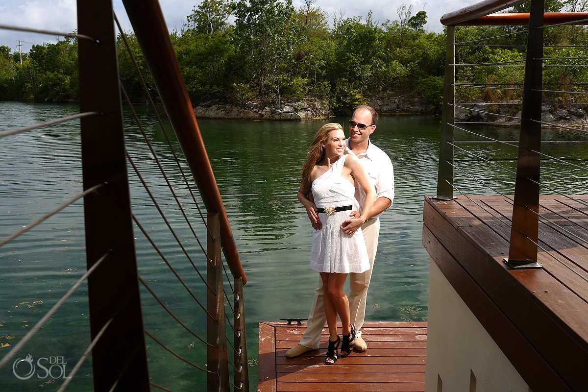 Riviera Maya photography portraits couple Rosewood Mayakoba