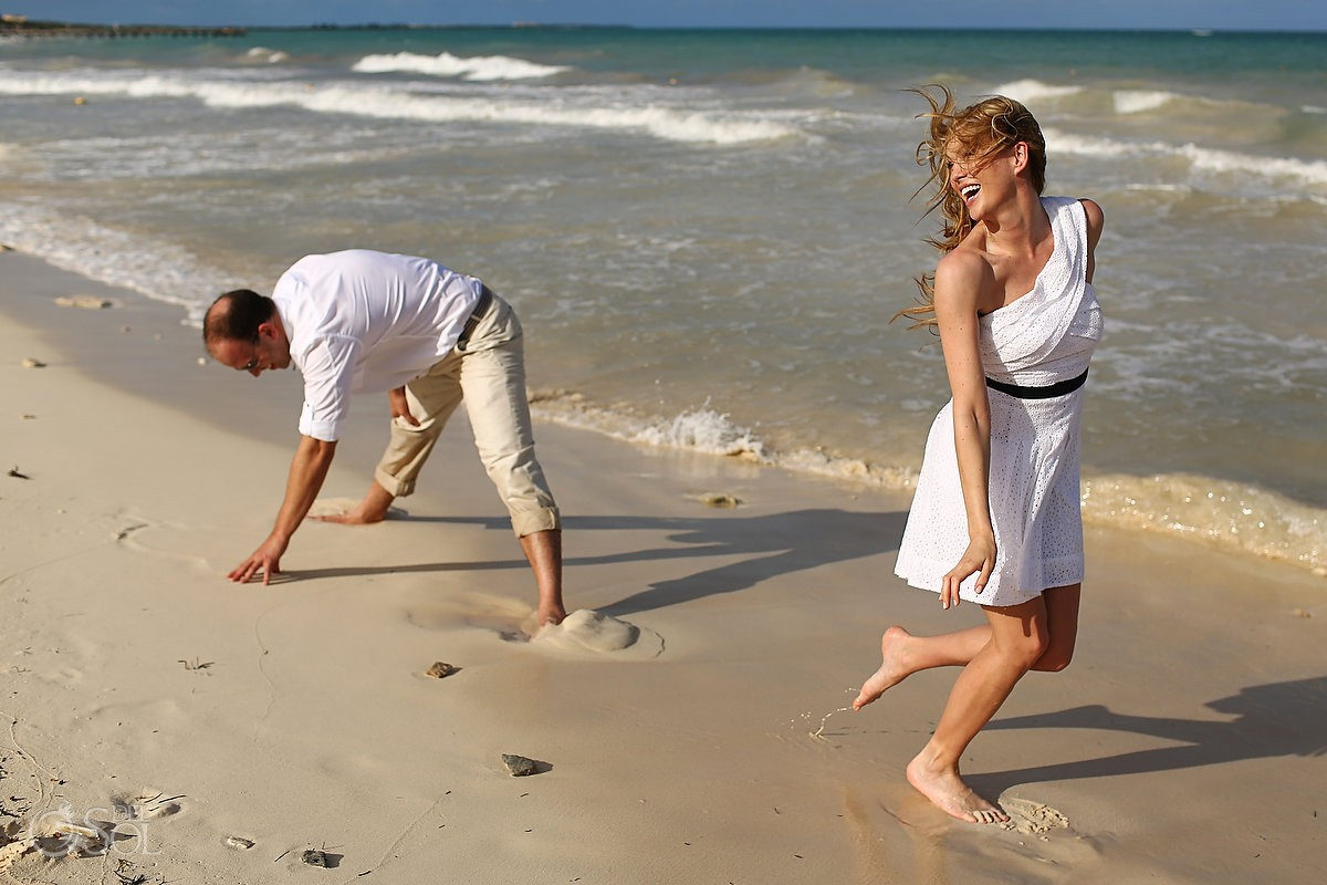 Riviera Maya photography beach portraits Rosewood Mayakoba