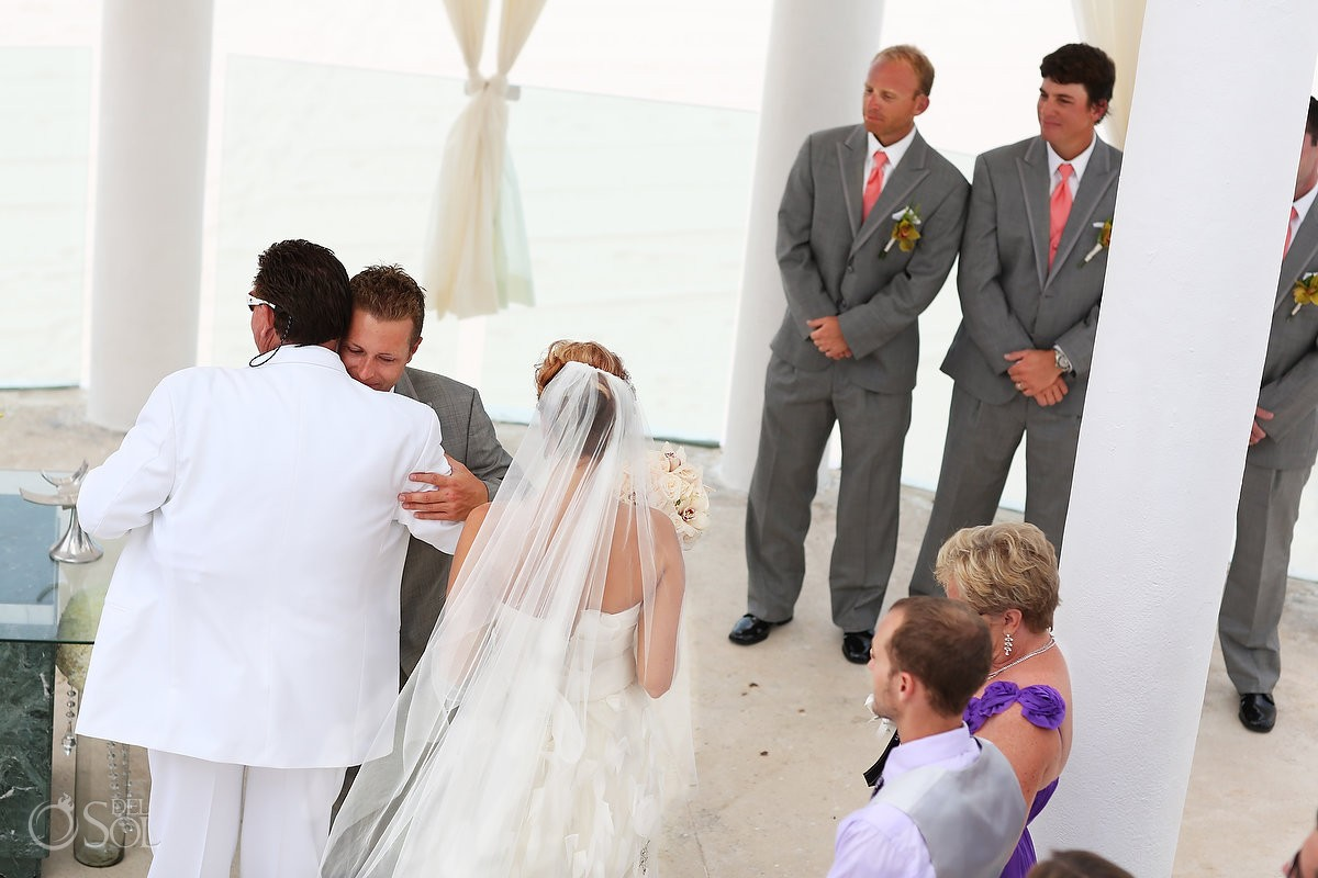 Cancun wedding ceremony Le Blanc Resort Mexico