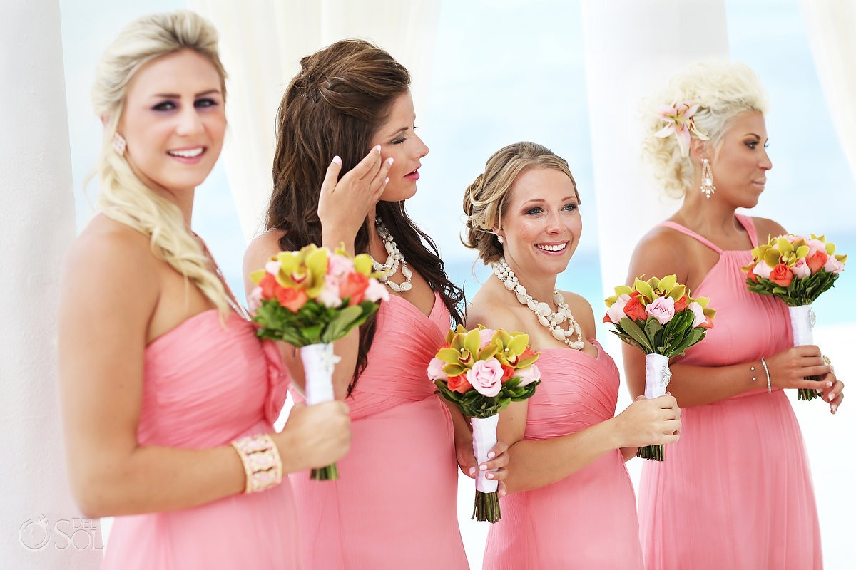 Cancun destination wedding ceremony Le Blanc Resort Mexico