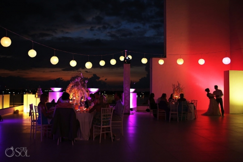 Cancun wedding reception Le Blanc Resort Mexico