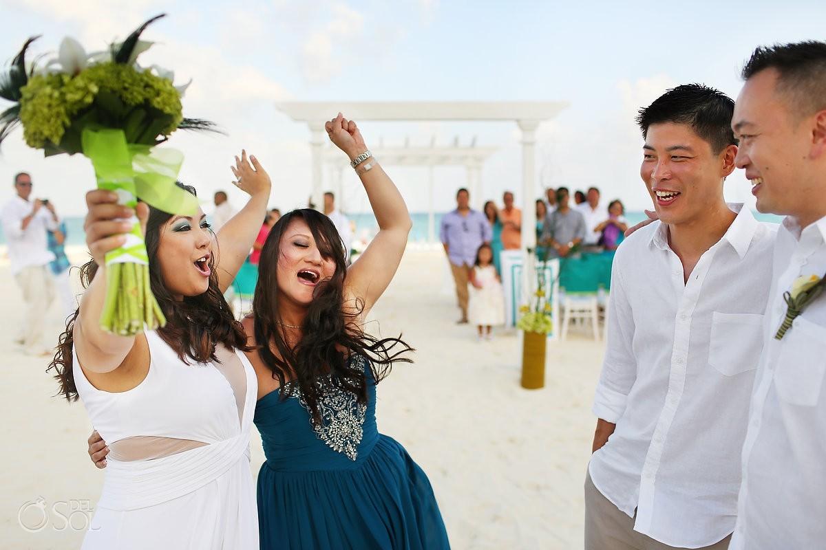 Playa del Carmen beach wedding Playacar Palace Mexico