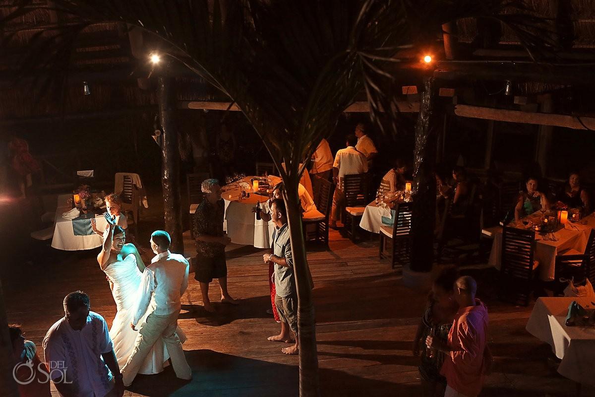 Riviera Maya beach wedding Al Cielo Boutique Hotel Mexico